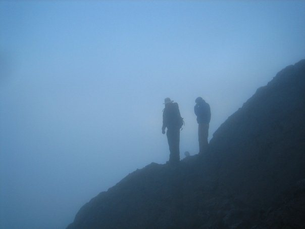 Third day, early morning to summit