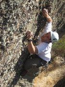 Rock Climbing Photo: Erik on Danny Boy