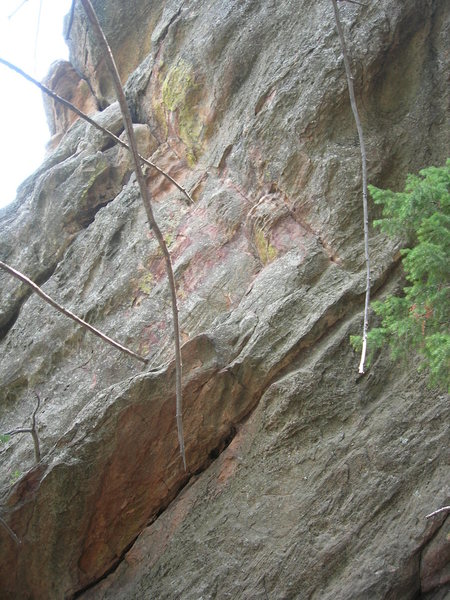 Rock Climbing Photo: The start for the East Ridge.