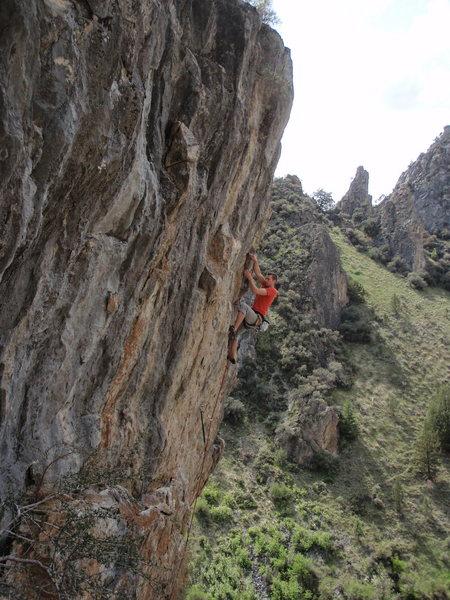 Rock Climbing Photo: Beautiful limestone climbing on Mother's Day Wall
