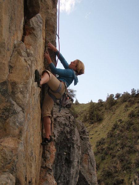 Rock Climbing Photo: Emily on MILF