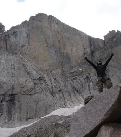 Rock Climbing Photo: Lovin the Alpine