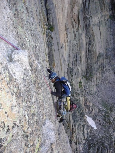 Rock Climbing Photo: On the Diamond