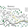 Here is a more detailed overview of the crags and trails at Rumney... The trails are in the process of being changed a bit but these are the existing ones...