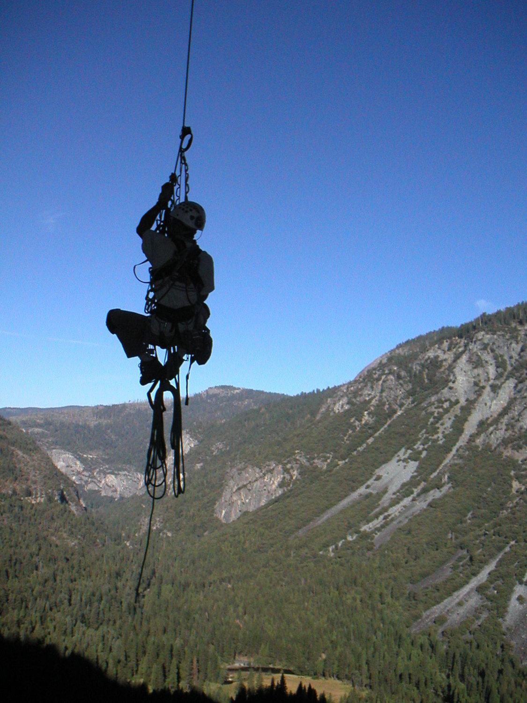 Jugging Pitch 1 Leaning Tower Yosemite