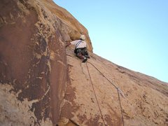 Rock Climbing Photo: Passed the pro bolt on third pitch