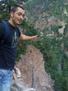 Rock Climbing Photo: Timpanogos cave