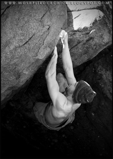 Rock Climbing Photo: Some V3 problem in Leavenworth, WA