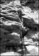 Rock Climbing Photo: My absolute favorite route Dolly Pardon 5.10c