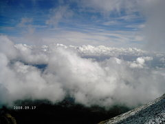 Rock Climbing Photo: Above the clouds again.