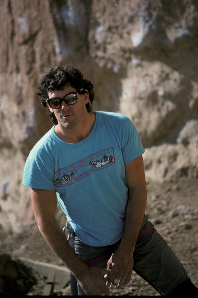 Rock Climbing Photo: Lep in '88