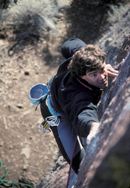 Rock Climbing Photo: Richard Leversee on Drill 'Em and Fill 'Em