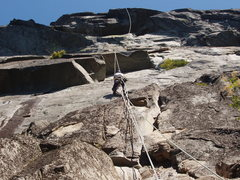 Rock Climbing Photo: Erik Neumann on one of many work outings.  The cru...