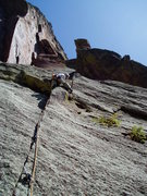 Rock Climbing Photo: Switching cracks is relatively easy. You'll want a...