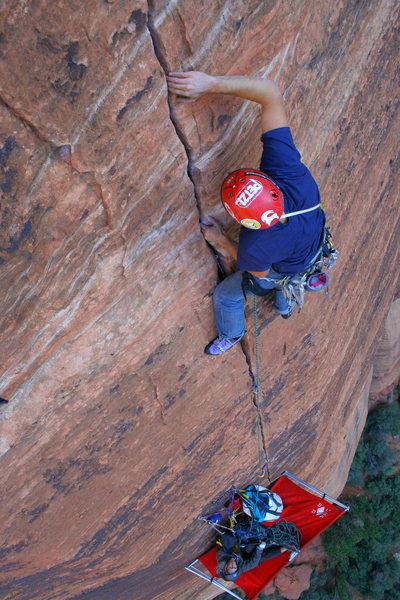 Rock Climbing Photo: Touchstone by me