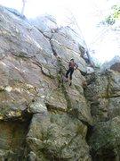 Rock Climbing Photo: Rappelling Rappel Crack