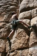 Rock Climbing Photo: Nathan on More Punk than Funk 5.10b
