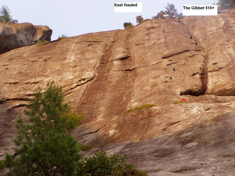 Rock Climbing Photo: Second pitch of The Gibbet