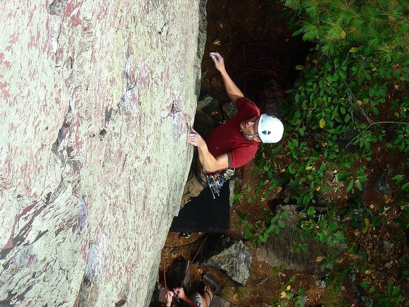 Rock Climbing Photo: Flashing Alpha Centauri, Sept 09.  Super fun.  Pho...