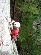 Rock Climbing Photo: Gear fiddling on a flash of Alpha C, Sept 09.  Pho...