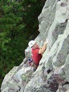 Rock Climbing Photo: Flashing Vivisection on a beautiful fall day, Sept...