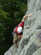Rock Climbing Photo: CE flashing Vivisection on a beautiful fall day, S...