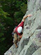 Rock Climbing Photo: CE flashing Vivisection on a beautiful fall day, S...