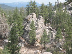 Rock Climbing Photo: Closet Crag as viewed from the vicinity of The One...