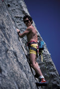 Rock Climbing Photo: Kim Miller