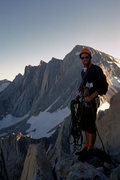 Rock Climbing Photo: At the top of Mount Russell looking back over the ...