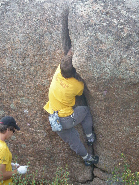 Rock Climbing Photo: Alice.