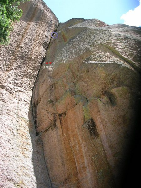 Rock Climbing Photo: Crusher and Strappo's great find in the Lost Creek...