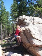 Rock Climbing Photo: Wife on liberal