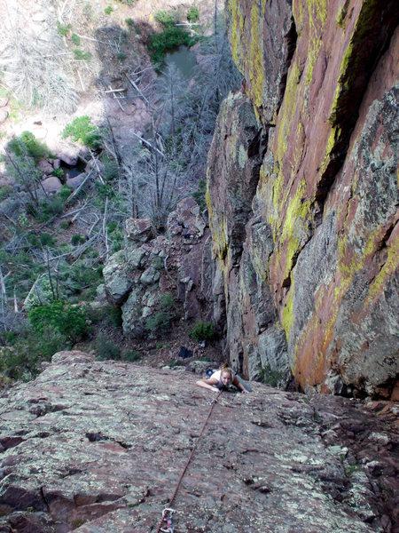 1st climb