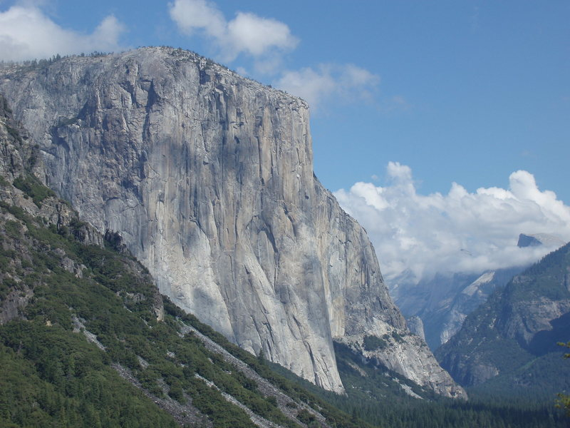 tunnel view...