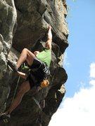 Rock Climbing Photo: Streeetch