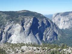 Rock Climbing Photo: GP Apron from Snake Dike...