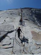 Rock Climbing Photo: cables