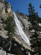 Rock Climbing Photo: Nevada Falls