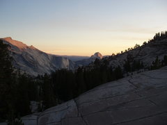 Rock Climbing Photo: Half Dome sunset from Olmstead Point