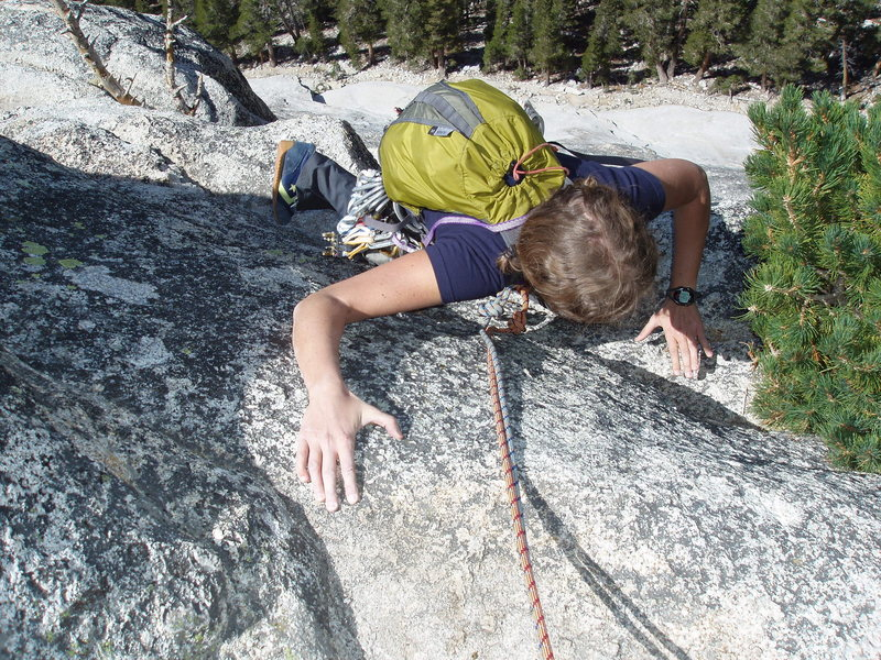 Rock Climbing Photo: Lembert Dome