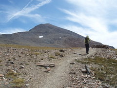 Rock Climbing Photo: Mt Dana 13,053  2nd highest peak in the park. The ...