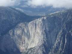 Rock Climbing Photo: Lost Arrow from Glacier Point