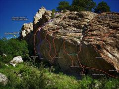 "Rock Climbing Photo: Photo beta for the ""Wisdom Wall"" as of 9..."