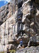 Rock Climbing Photo: About half way.