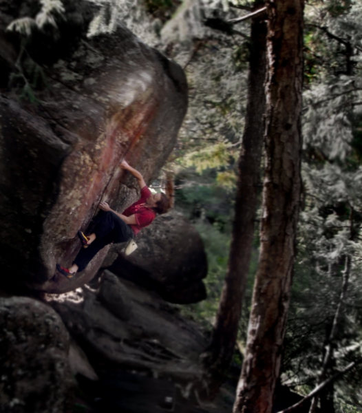 Rock Climbing Photo: Luke Childers on Hollow Way's Way.