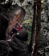 Rock Climbing Photo: Luke Childers on Hollow Way's Way.