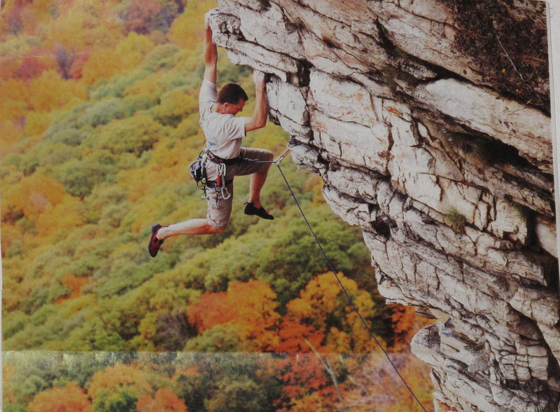 Rock Climbing Photo: Just a great shot out of climbing mag of one of my...