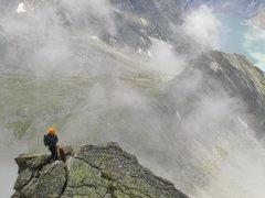 Rock Climbing Photo: Looking back down the South Ridge.