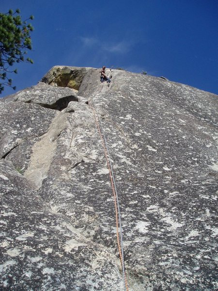 Rock Climbing Photo: top pitch